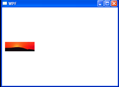 WPF Display A Static Image