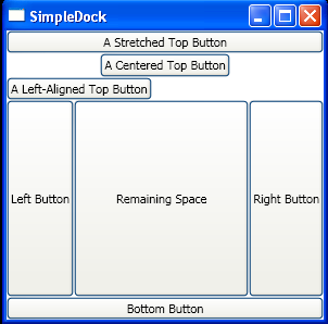 WPF Dock More Than Two Objects