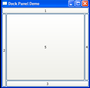 WPF Dock Panel Fill