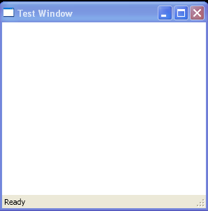 WPF Dock Status Bar
