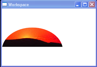 WPF Elliptical Clip Example