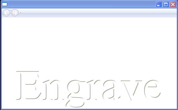 Engrave Text