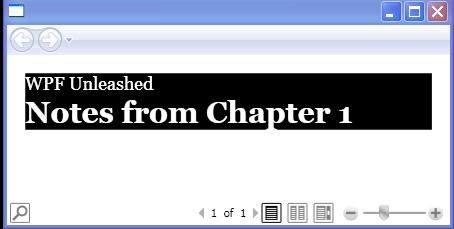 Adding style to Paragraph : FlowDocument « Windows Presentation