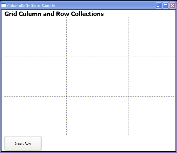 WPF Insert Row