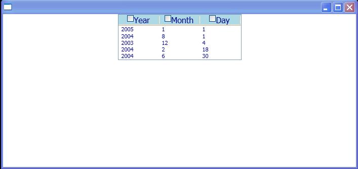 Create Binding for ListView in code : ListView « Windows