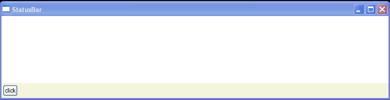 Make Group onto Statusbar
