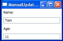 Manual Update Target