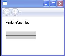 PenLineCap.Flat