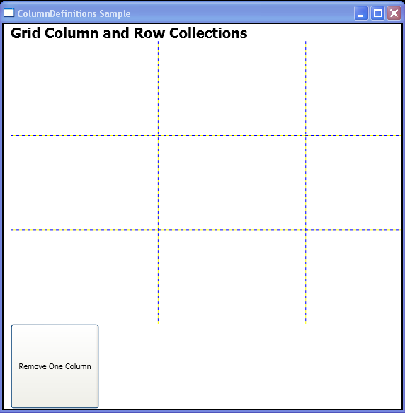WPF Remove One Column