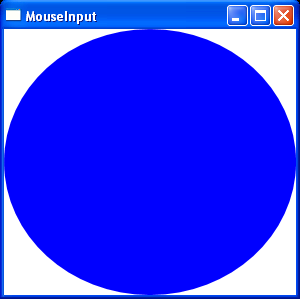 Replease mouse with Mouse.Capture(null)