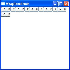 Set item width for WrapPanel