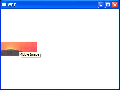 WPF Set Tooltip For Image
