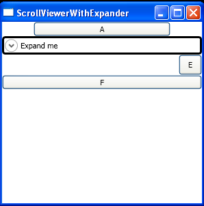 WPF Stack Panel In A Scroll Viewer