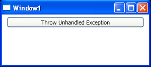Throw Unhandled Exception