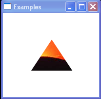 Triangular Clip Example