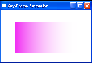 Use ColorAnimationUsingKeyFrames to animate GradientStop