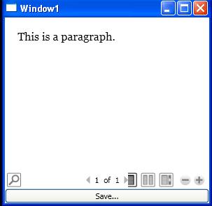 Use XamlDesignerSerializationManager to write FlowDocument