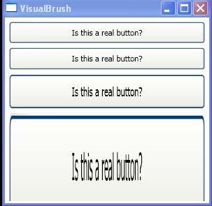 WPF Visual Brush Binding To A Button