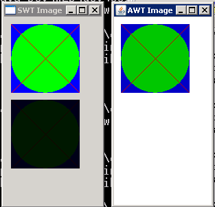Convert between SWT Image and AWT BufferedImage
