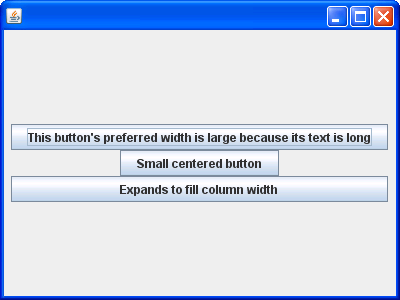 Effects of the fill Constraint