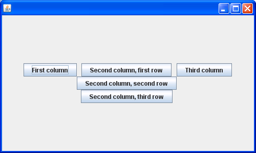 Adding Components with a Relative Y Position