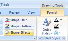 Add Individual Effects to a Shape