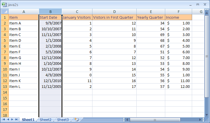 Delete Multiple Columns or Rows : Column Row « Workbook Worksheet ...