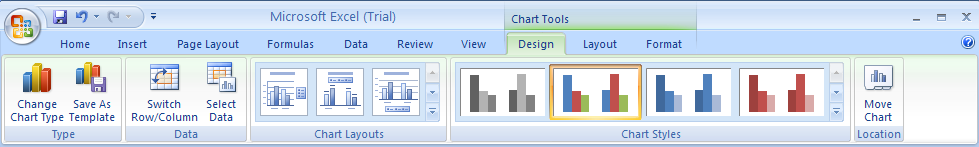 Apply a Chart Style
