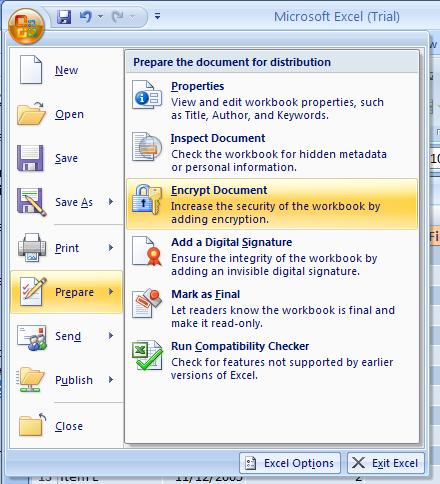 Apply File Encryption