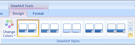 Apply a Quick Style to a SmartArt Graphic