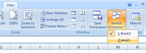 Arrange or Switch Between Windows