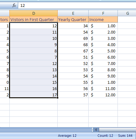 micro office excel formulas