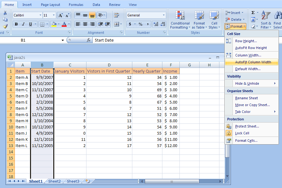 how to move to bottom of a column in excel