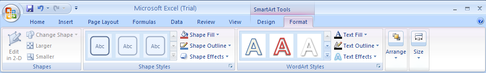 Change Shapes in a SmartArt Graphic