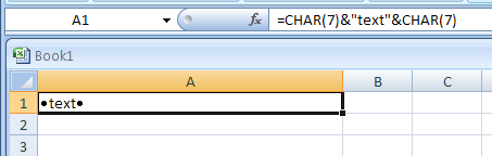 CLEAN removes all nonprintable characters from text