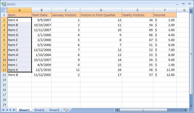 Excel: Create a Custom Fill