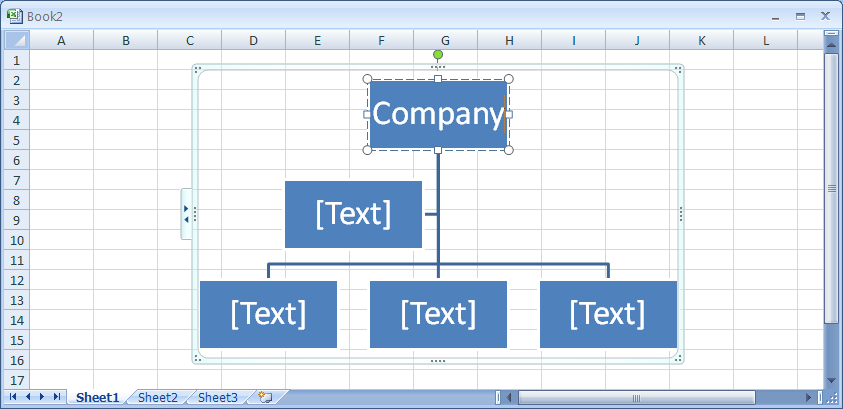 Create an Organization Chart Using a SmartArt Graphic : SmartArt ...