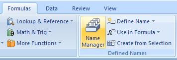 Delete a name range