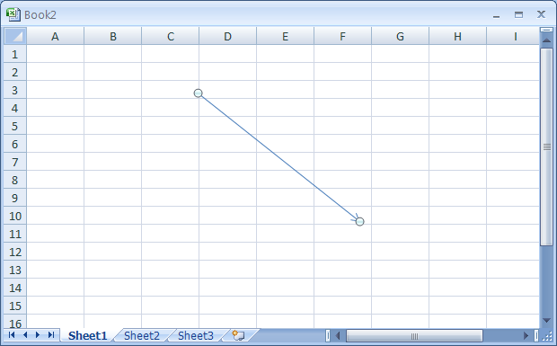 Drawing Lines Excel Vba : Draw a straight line or arrow « wordart clip