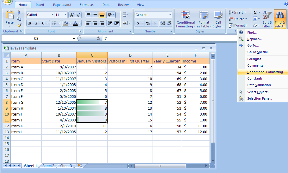 Find Cells with Conditional Formatting