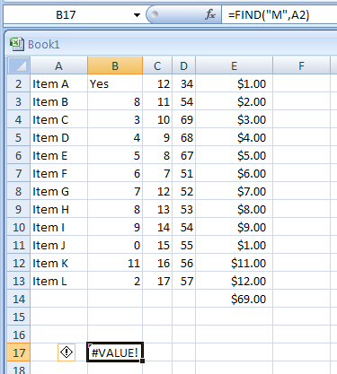 FIND(find_text,within_text,start_num) finds one text value within another (case-sensitive) and return the index