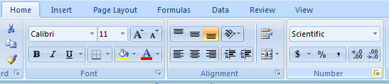 Format a Number Using the Format Cells Dialog Box