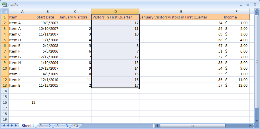Let Excel Name a Cell or Range