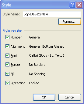 Modify a Custom Cell Style : Cell Style « Format Style « Microsoft ...