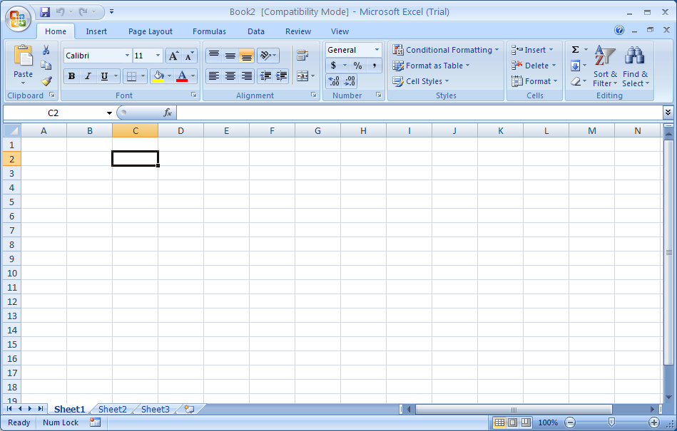Save an Excel 97-2003 Workbook