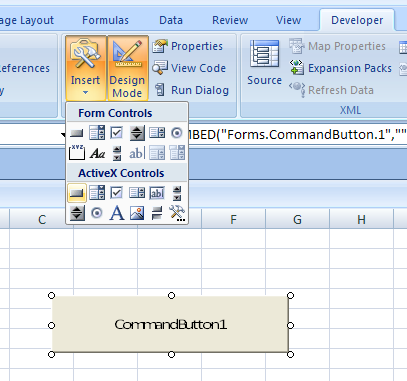 Using ActiveX Controls : ActiveX Control « Macro ActiveX Add
