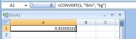 =CONVERT(1.0,