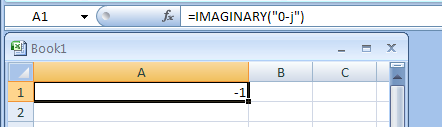 =IMAGINARY(