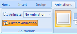 Apply a Customized Animation to a SmartArt Graphic