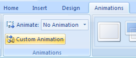 Apply a Customized Animation